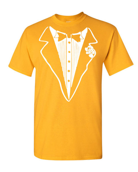 f42d50c02 ... Tuxedo Funny T-Shirt Tux Bachelor Party Wedding Groom Tee Shirt - Tee  Hunt ...