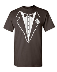 Tuxedo Funny T-Shirt Tux Bachelor Party Wedding Groom Tee Shirt - Tee Hunt - 13