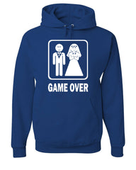 Game Over Funny Hoodie Groom And Bride Wedding Sweatshirt - Tee Hunt - 6