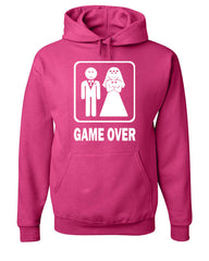 Game Over Funny Hoodie Groom And Bride Wedding Sweatshirt - Tee Hunt - 8