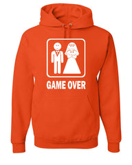 Game Over Funny Hoodie Groom And Bride Wedding Sweatshirt - Tee Hunt - 4