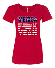 AMERICA F*CK YEAH T-Shirt  4th Of July Patriotic Tee Shirt - Tee Hunt - 3