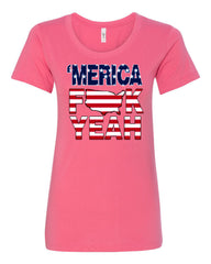 AMERICA F*CK YEAH T-Shirt  4th Of July Patriotic Tee Shirt - Tee Hunt - 6