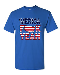 AMERICA F*CK YEAH T-Shirt  4th Of July Patriotic Tee Shirt - Tee Hunt - 7