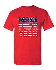AMERICA F*CK YEAH T-Shirt  4th Of July Patriotic Tee Shirt - Tee Hunt - 9