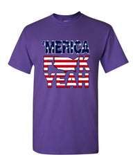 AMERICA F*CK YEAH T-Shirt  4th Of July Patriotic Tee Shirt - Tee Hunt - 16