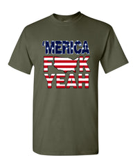 AMERICA F*CK YEAH T-Shirt  4th Of July Patriotic Tee Shirt - Tee Hunt - 13