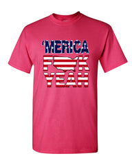 AMERICA F*CK YEAH T-Shirt  4th Of July Patriotic Tee Shirt - Tee Hunt - 14