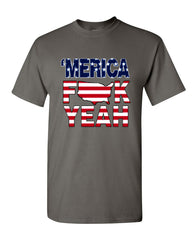 AMERICA F*CK YEAH T-Shirt  4th Of July Patriotic Tee Shirt - Tee Hunt - 5