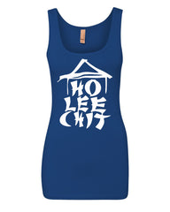 Ho Lee Chit Funny Women's Tank Top Chinese Character Parody Top - Tee Hunt - 7