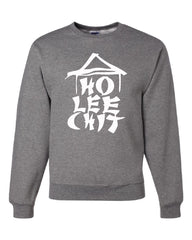 Ho Lee Chit Funny Crew Neck Sweatshirt Chinese Character Parody - Tee Hunt - 6