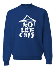 Ho Lee Chit Funny Crew Neck Sweatshirt Chinese Character Parody - Tee Hunt - 5
