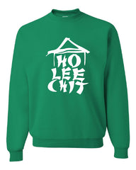 Ho Lee Chit Funny Crew Neck Sweatshirt Chinese Character Parody - Tee Hunt - 3