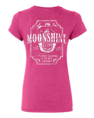 Moonshine Tennessee Whiskey Cotton T-Shirt Smoky Mountain - Tee Hunt - 6