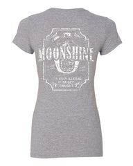 Moonshine Tennessee Whiskey Cotton T-Shirt Smoky Mountain - Tee Hunt - 7