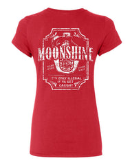 Moonshine Tennessee Whiskey Cotton T-Shirt Smoky Mountain - Tee Hunt - 3