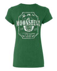 Moonshine Tennessee Whiskey Cotton T-Shirt Smoky Mountain - Tee Hunt - 8