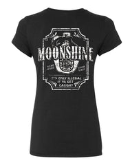 Moonshine Tennessee Whiskey Cotton T-Shirt Smoky Mountain - Tee Hunt - 2