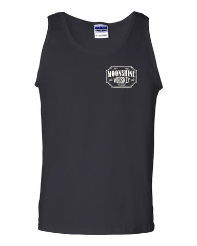 Moonshine Tennessee Whiskey Tank Top Smoky Mountain Muscle Shirt - Tee Hunt - 1