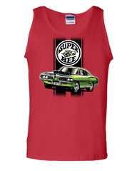 Dodge Green Super Bee Tank Top American Classic Muscle Car Sleeveless