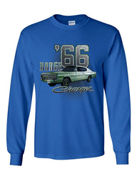 Dodge Charger '66 Long Sleeve T-Shirt American Classic Muscle Car Tee