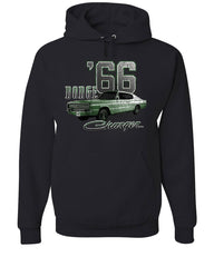 Dodge Charger '66 Hoodie American Classic Muscle Car Sweatshirt