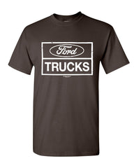 Distressed Ford Trucks T-Shirt F150 American Pick Up Cotton Tee