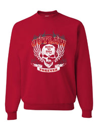 Outlaw Forever Sweatshirt Born to Ride MC Chopper Bobber Sweater