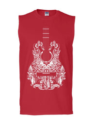 Bandana Guitar Muscle Shirt Music Rock & Roll Legend Rock Star Sleeveless