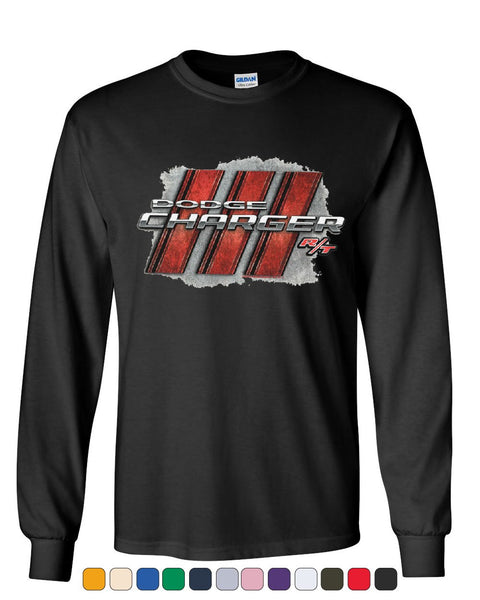 Dodge Charger R/T Long Sleeve T-ShirtAmerican Muscle Car Tee