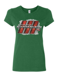 Dodge Charger R/T Women's T-Shirt American Muscle Car Cotton Tee
