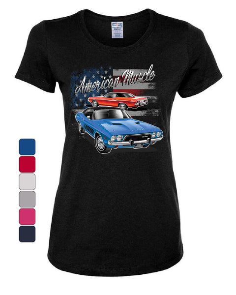 Dodge Challenger American Classic Women's T-Shirt American Muscle Car Tee