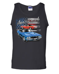 Dodge Challenger American Classic Tank Top American Muscle Car Sleeveless