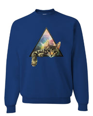 Galaxy Cat Sweatshirt Cute Kitten Pet Universe Sweater