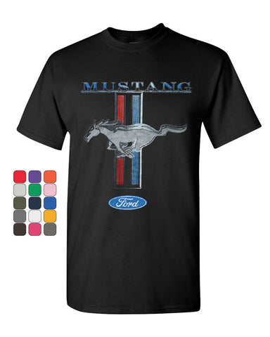 Ford Mustang Classic T-Shirt GT Cobra Boss 302 Mach 1 Cotton Tee