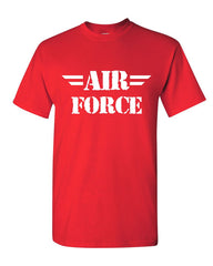 Air Force T-Shirt Military Veteran POW MIA Air Force Mom Mens Tee Shirt