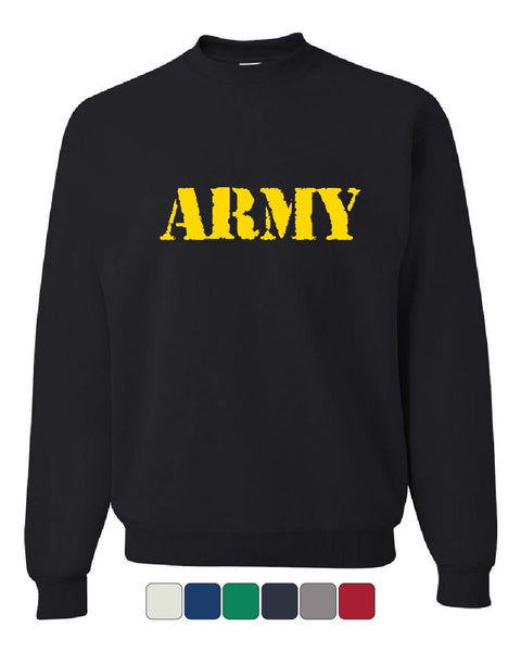 ARMY Sweatshirt Military Soldier POW MIA Patriotic Veteran's Day Sweater