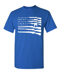 American Flag T-Shirt 2nd Amendment Gun Rights Homeland AR15 Tee