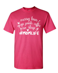 #Momlife Funny T-Shirt Gift for Mom Mother's Day Mommy Mens Tee Shirt