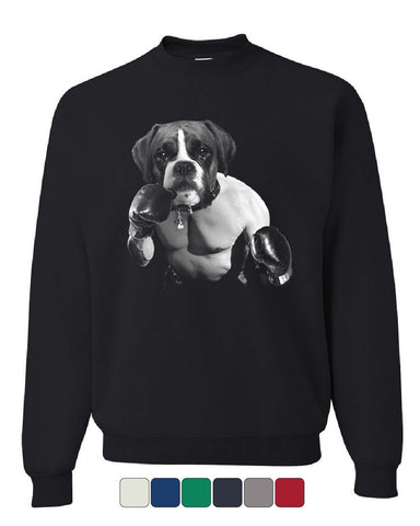 The Boxer Boxer Sweatshirt Fighting MMA Boxing Dog Pet Lovers Sweater