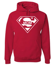 Super Mom Funny Hoodie Superhero Parody Mother's Day Sweatshirt - Tee Hunt - 5