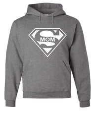 Super Mom Funny Hoodie Superhero Parody Mother's Day Sweatshirt - Tee Hunt - 7