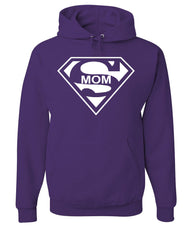 Super Mom Funny Hoodie Superhero Parody Mother's Day Sweatshirt - Tee Hunt - 3