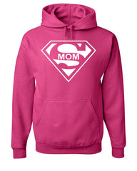 Super Mom Funny Hoodie Superhero Parody Mother's Day Sweatshirt - Tee Hunt - 8