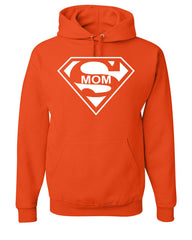 Super Mom Funny Hoodie Superhero Parody Mother's Day Sweatshirt - Tee Hunt - 4