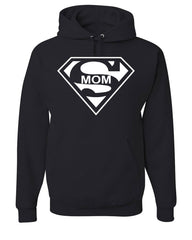 Super Mom Funny Hoodie Superhero Parody Mother's Day Sweatshirt - Tee Hunt - 2