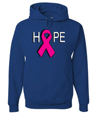 HOPE Breast Cancer Awareness Pink Ribbon Hoodie  Sweatshirt - Tee Hunt - 6
