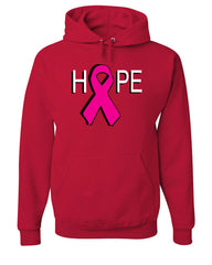 HOPE Breast Cancer Awareness Pink Ribbon Hoodie  Sweatshirt - Tee Hunt - 5