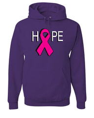 HOPE Breast Cancer Awareness Pink Ribbon Hoodie  Sweatshirt - Tee Hunt - 3