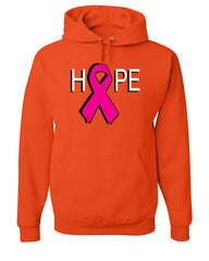 HOPE Breast Cancer Awareness Pink Ribbon Hoodie  Sweatshirt - Tee Hunt - 4
